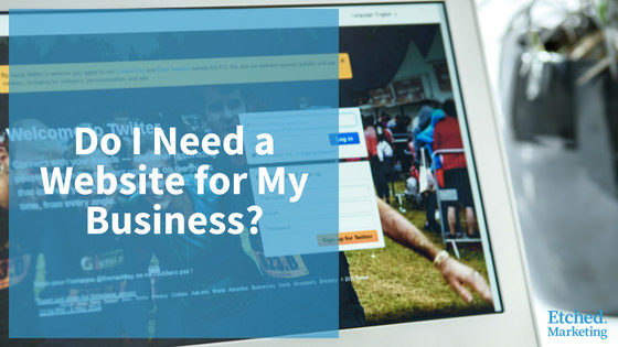 Need a website business etched marketing