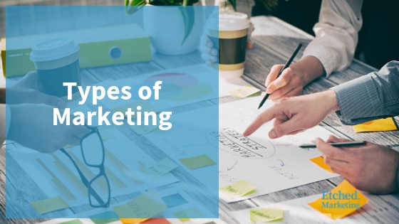 Types of marketing etched marketing